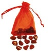 Červený jaspis- 12 kamínků dlouhověkosti - AKCE