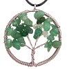 Přívěsek strom života Avanturín zelený