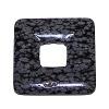 Obsidián vločkový - donut 4 cm