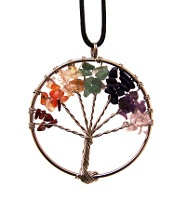 Přívěsek čakrový strom života