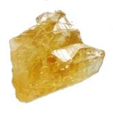 Citrín - kámen surový menší