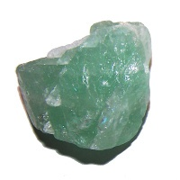 Fluorit zelený - kámen surový střední