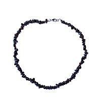 Granát - náhrdelník z kamínků 45 cm