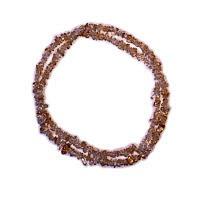 Citrín - náhrdelník z kamínků 90 cm