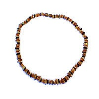 Jantar - náhrdelník z kamínků 45 cm