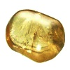 Kalcit žlutý tmavý - kámen tromlovaný střední