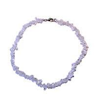 Křišťál - náhrdelník z kamínků 45 cm
