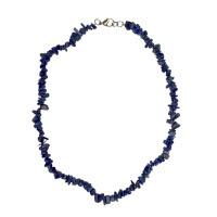 Lazurit (lapis lazuli) - náhrdelník z kamínků 45 cm