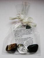 3 kameny pro náročné (malachit, tygří oko, křišťál)