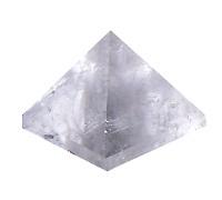 Křišťál - pyramida 3 cm