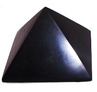Šungit - pyramida menší