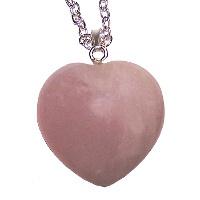 Růženín - přívěsek srdce velké
