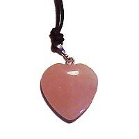Růženín - přívěsek srdce