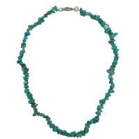 Tyrkys - náhrdelník z kamínků 45 cm