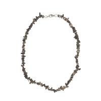 Záhněda - náhrdelník z kamínků 45 cm