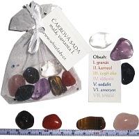 Čakrové kameny malé var. I.