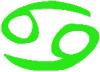 ikona znamení Rak